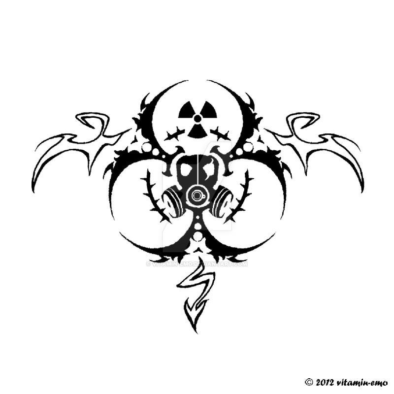 toxic rose tatoo design by vitamin emo on deviantart. Black Bedroom Furniture Sets. Home Design Ideas