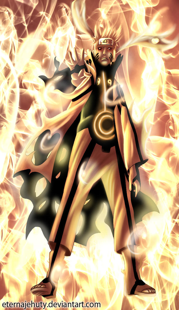 Naruto Bijuu Mode by EternaJehuty