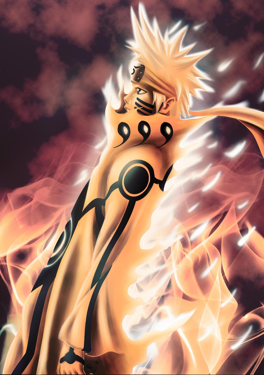 Bijuu Mode Vs Susanoo Naruto Kyukudou
