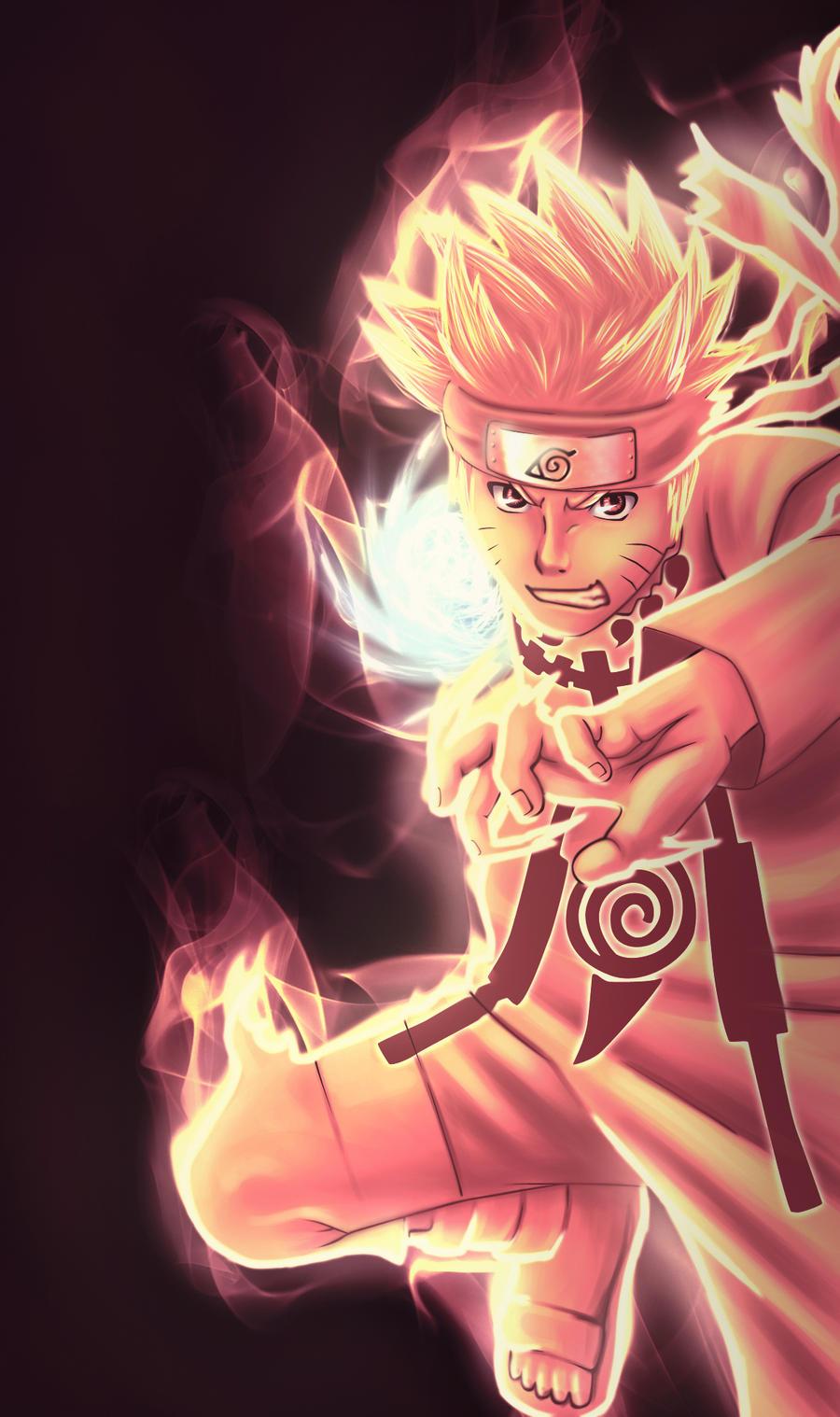Naruto Rasengan by EternaJehuty