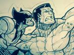 Colossus Wolverine Fastball Special Sneak Peak