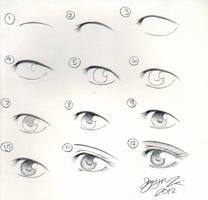 Eye Tutorial by Mangaotakuchan