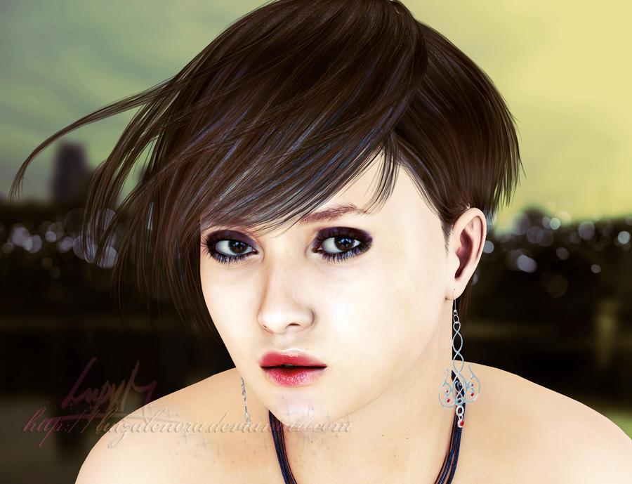 Sexy Portrait by Luizalenora