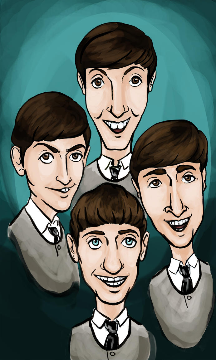 The Beatles by lcannizzaro
