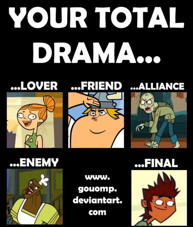 My Meme Your Total Drama By Jakna On Deviantart