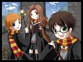 Harry Potter by Icesplendor