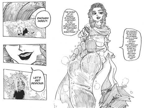 Commission - Hera's Punishment 2 by AnnahKetsuno