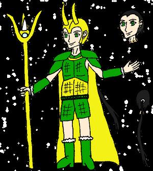 Mischievous Caster (Fate series fan Servant)