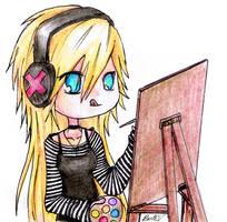 The Artist by xbooshbabyx