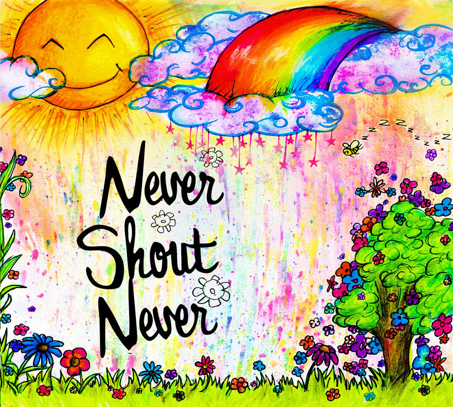 Nevershoutnever what is love album cover