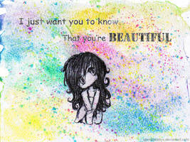 .::You'reBeautiful::. by xbooshbabyx