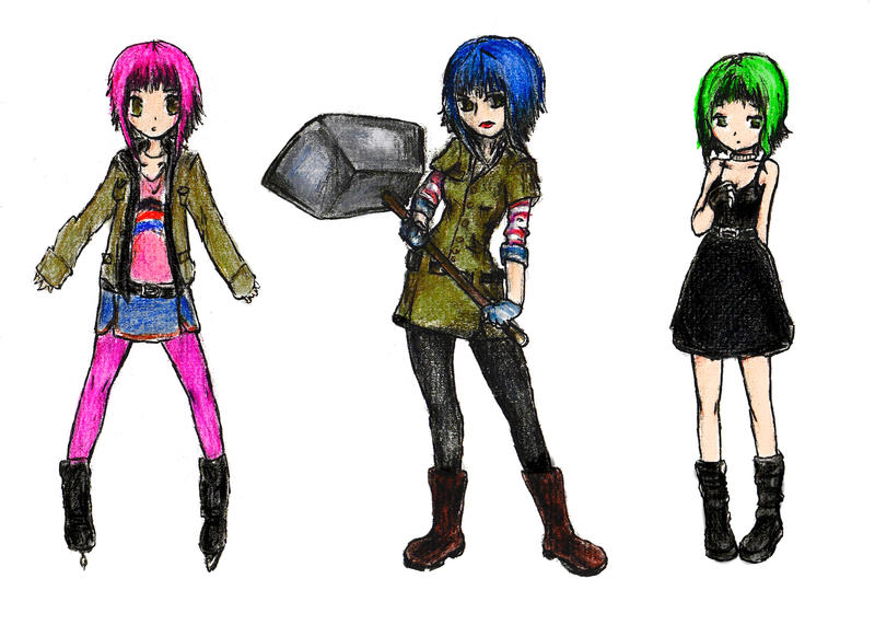 Ramona Flowers by xbooshbabyx