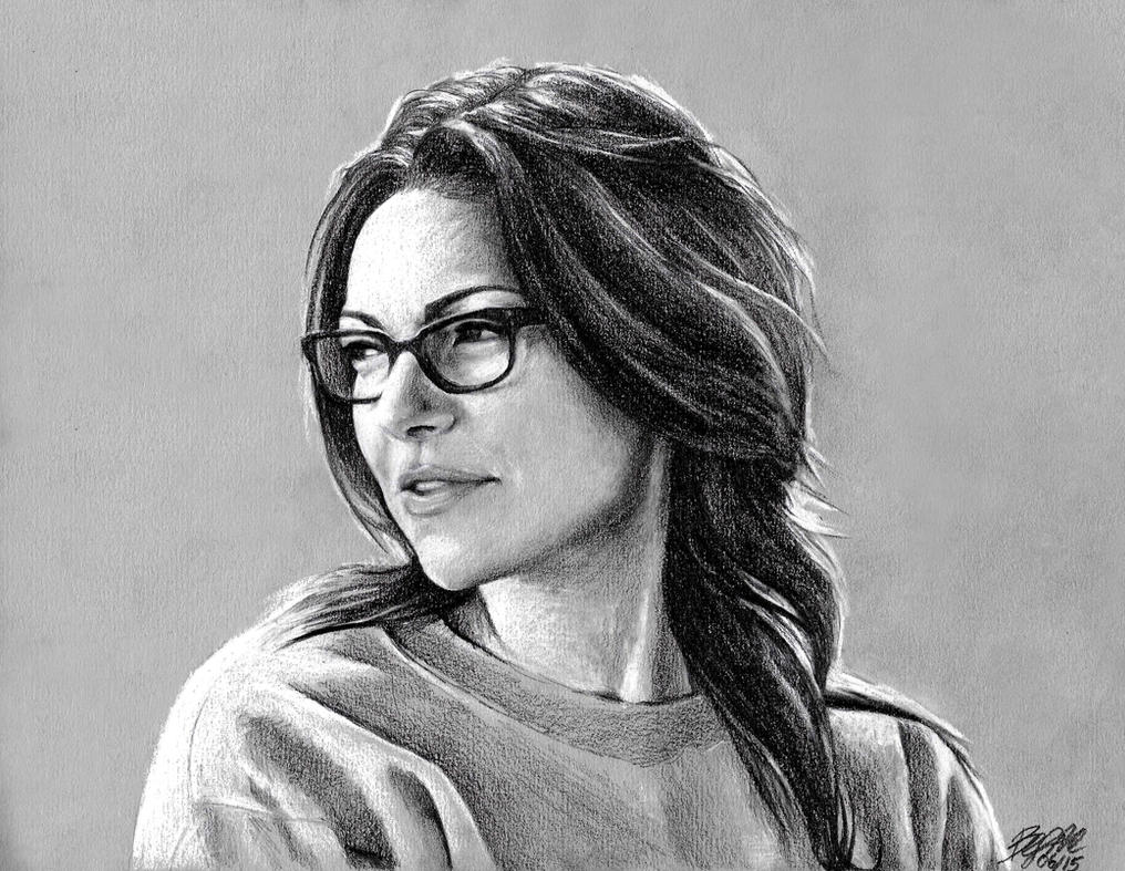 Alex Vause OITNB Drawing by xbooshbabyx