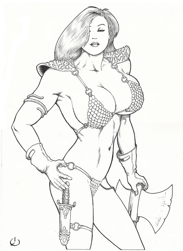 Jessica the Barbarian by yatz