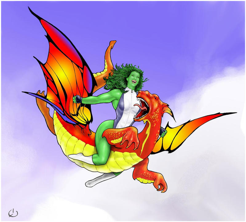 Sky-rider Shulkie by yatz