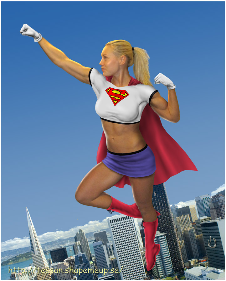 Swedish Supergirl by yatz