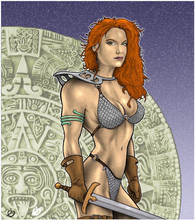 Mayan Sonja by yatz