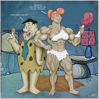 Saturday Morning Muscle - Wilma goes BIG by yatz