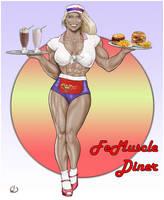 Nice-Looking Waitress by yatz