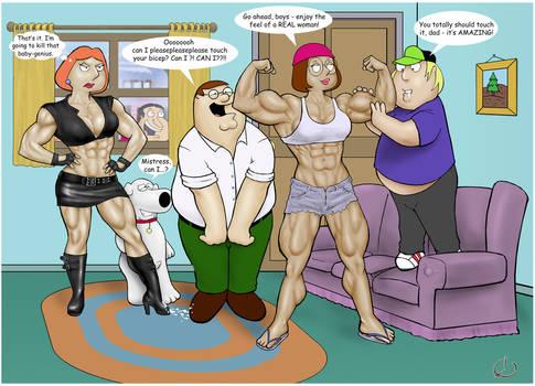 TBG - Lois vs. Meg part1