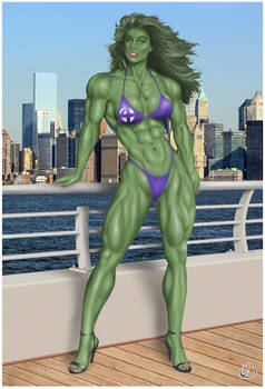 TBT: The Fantastic She-Hulk