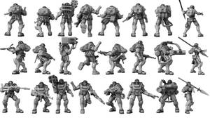 Grindhouse Incursion Drop Troopers