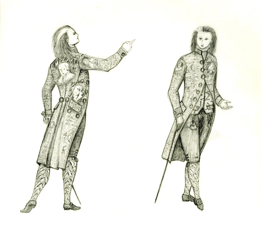Punk Frock Coat Sketch by MouseBorg