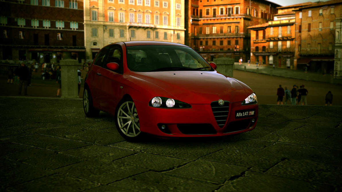 alfa romeo 147 ti gt5 by djcadir on deviantart. Black Bedroom Furniture Sets. Home Design Ideas