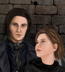 Tarik and Hayli by Symcale