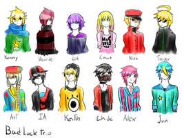 BDT- Personajes Part 1