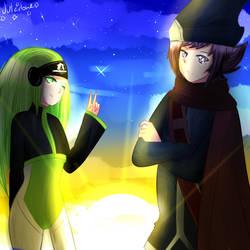 Savian and Marlow by A-ya-Smash
