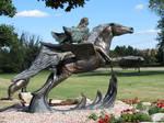 Statue 1 by ItsAllStock