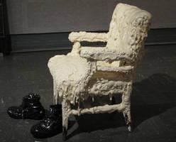 Melting Chair by ItsAllStock