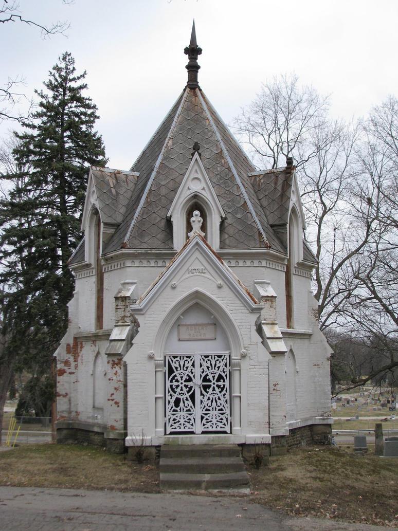 Cemetery...  Mausoleum by ItsAllStock