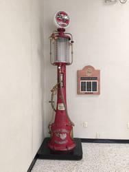 Gas Pump 1 by ItsAllStock