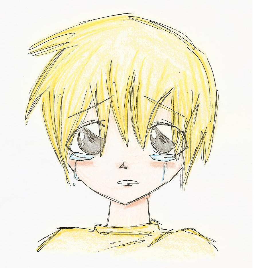 Drawing Of Anime Boy Sad | Www.imgkid.com - The Image Kid Has It!