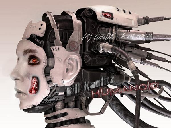 Humanoid Bill by lindadk
