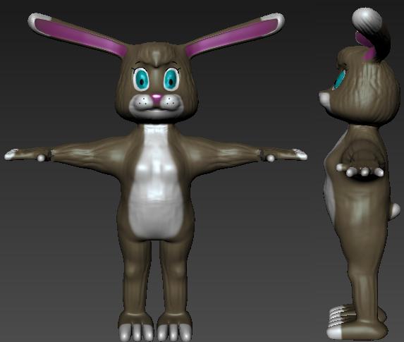 3D Model Rabbit Version 2 by Lyra-Elante
