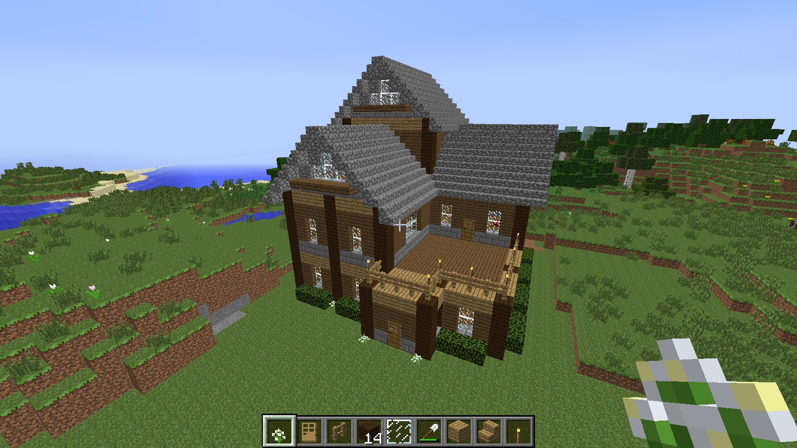 New minecraft house 3 by lyra elante on deviantart for Modern house xbox minecraft