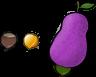 Kupo Nut and Kupo Fruit by Lyra-Elante