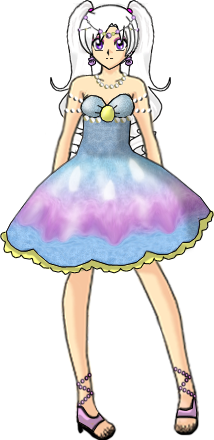 Ilya Seashell Dress by Lyra-Elante