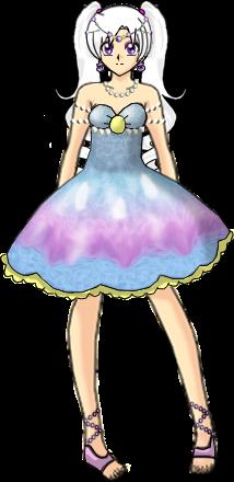 Ilya Seashell Dress by Lyra-Elante