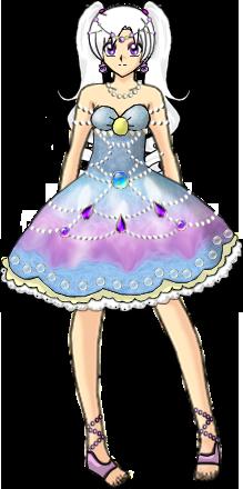 Ilya Seashell Dress Version 2 by Lyra-Elante