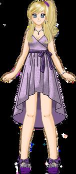 Ilya Purple Gown