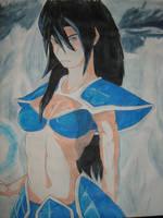 Female Saiyan - My version by ziverlase