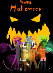 Dreamkeepers Halloween Fanart by ThePanther1025