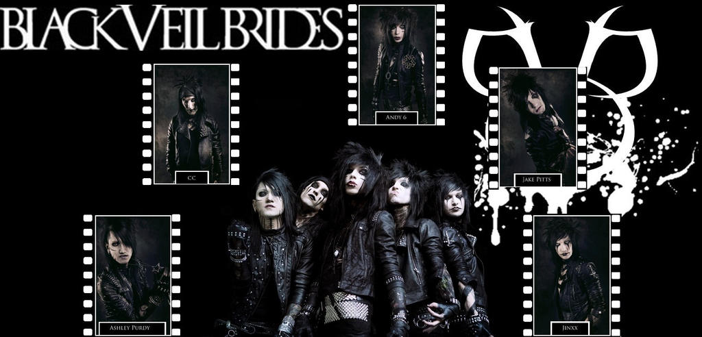 Blacesprodor Black Veil Brides Wallpaper