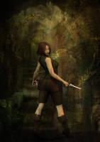 Lara Croft by daveyboygales