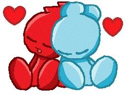 Sukai and Blood.:sleepy love:. by FriendlyPoe