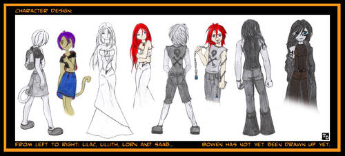 trossi character designing by trossidevil
